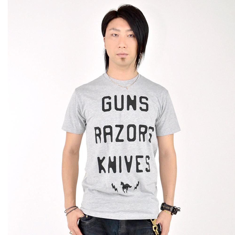 DEFTONES デフトーンズ - Guns Razors Knives / Tシャツ / メンズ 【公式 / オフィシャル】