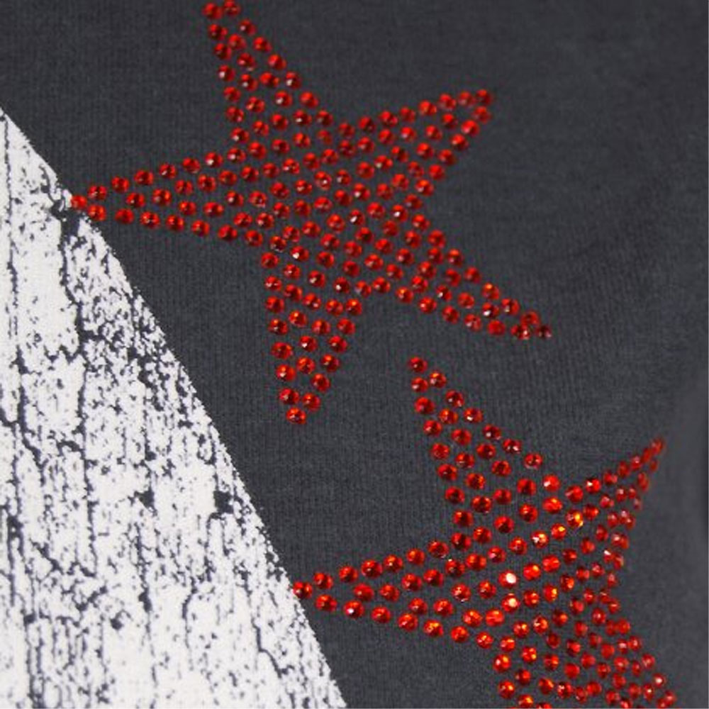 LADY GAGA レディーガガ (生誕35周年記念 ) - STARS Diamante / Amplified( ブランド ) / Tシャツ / レディース 【公式 / オフィシャル】