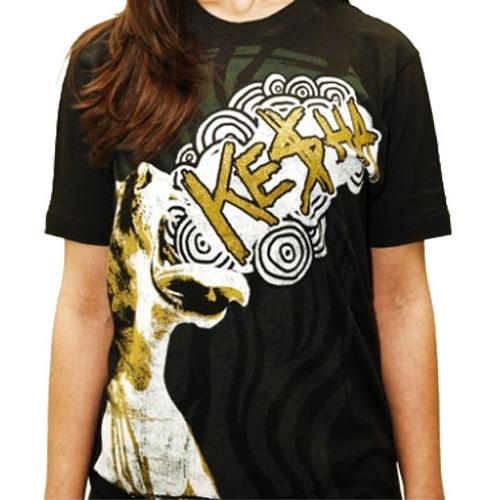 KE$HA ケシャ - Roar / Tシャツ / レディース 【公式 / オフィシャル】
