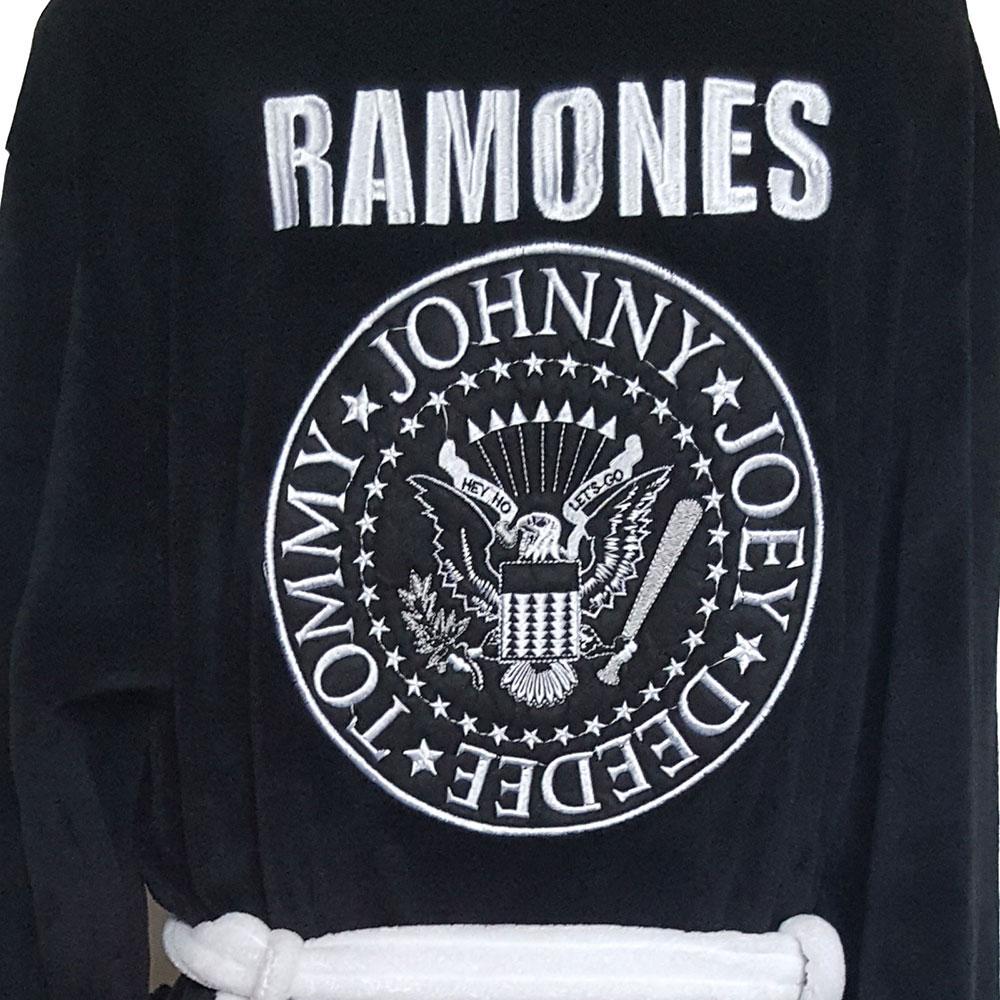 【予約商品】 RAMONES ラモーンズ (来日40周年記念 ) - Presidential Seal / バスローブ / メンズ 【公式 / オフィシャル】
