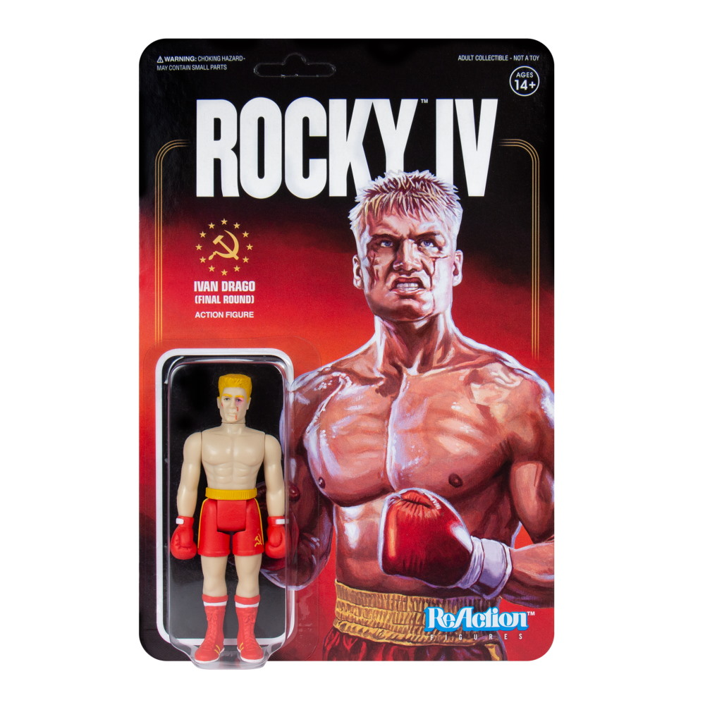 ROCKY ロッキー (公開45周年 ) - REACTION FIGURE / IVAN DRAGO / BEAT-UP / フィギュア・人形 【公式 / オフィシャル】