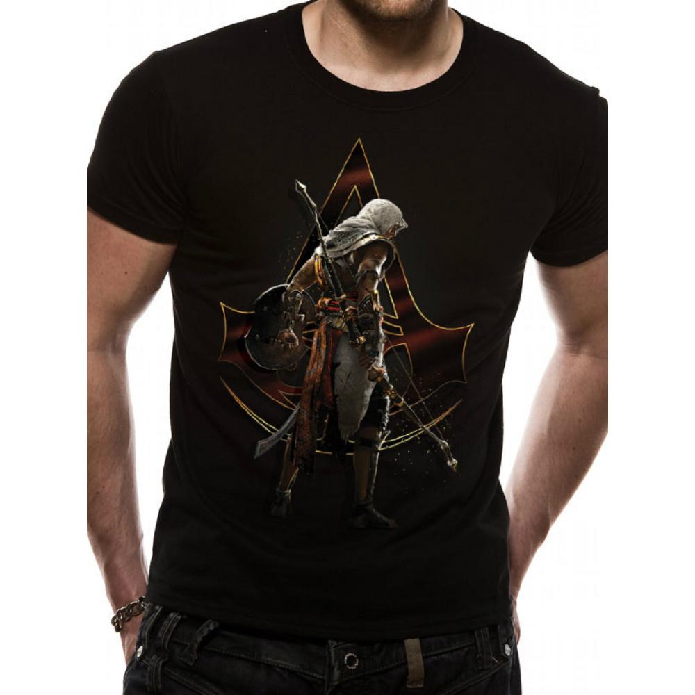 ASSASSINS CREED アサシンクリード (最新昨ヴァルハラ発売記念 ) - Character Stance / Tシャツ / メンズ 【公式 / オフィシャル】