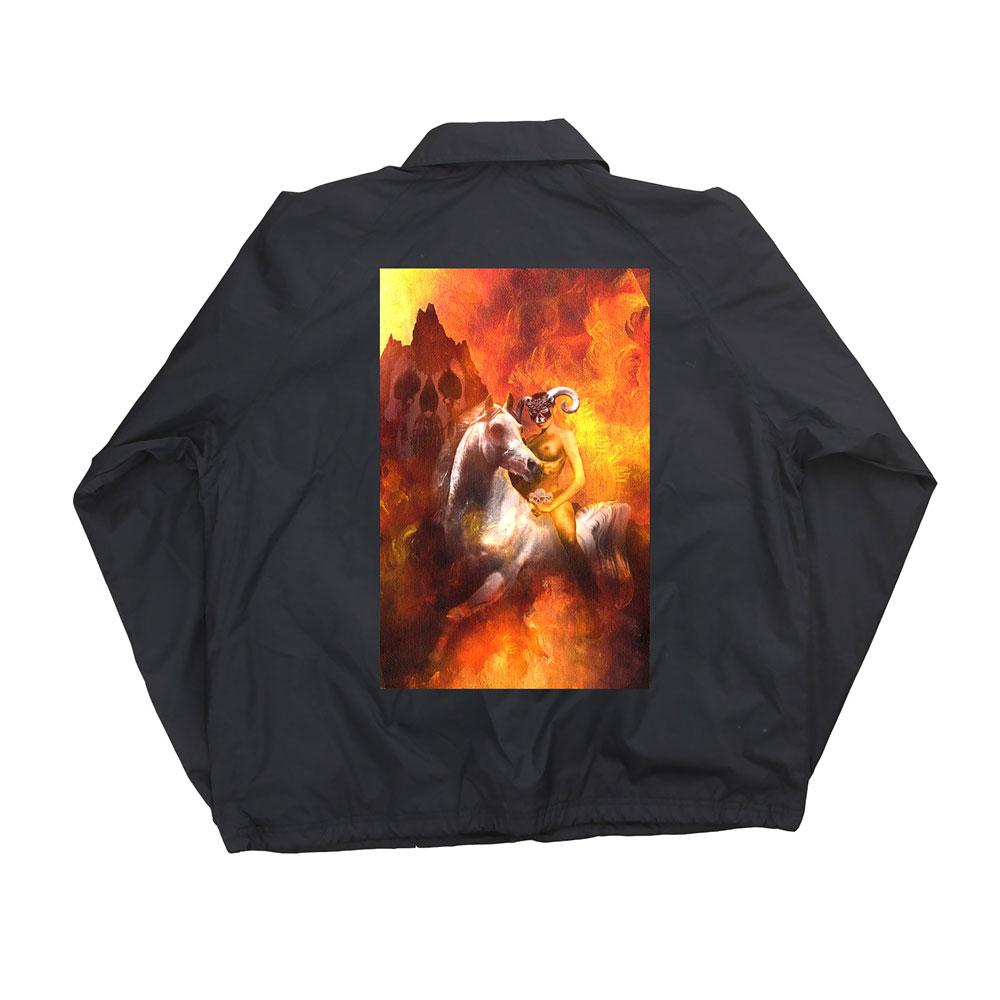 DEFTONES デフトーンズ - Molly Ratchet Coaches Jacket / アウター / メンズ 【公式 / オフィシャル】