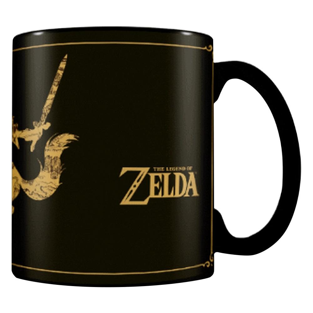 THE LEGEND OF ZELDA ゼルダの伝説 (ゼルダ35周年 ) - Map / マジック・マグカップ / マグカップ 【公式 / オフィシャル】