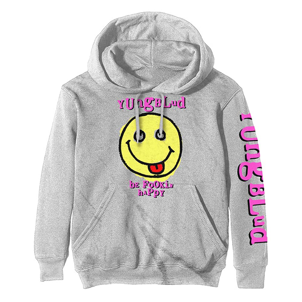 YUNGBLUD ヤングブラッド - Raver Smile / パックプリントあり / スウェット・パーカー / メンズ 【公式 / オフィシャル】
