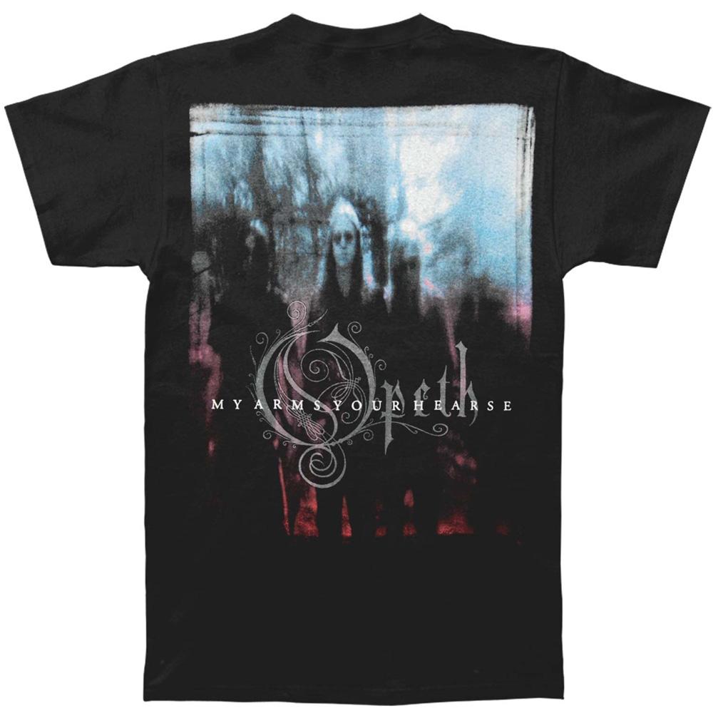 OPETH オーペス - MY ARMS / バックプリントあり / Tシャツ / メンズ 【公式 / オフィシャル】