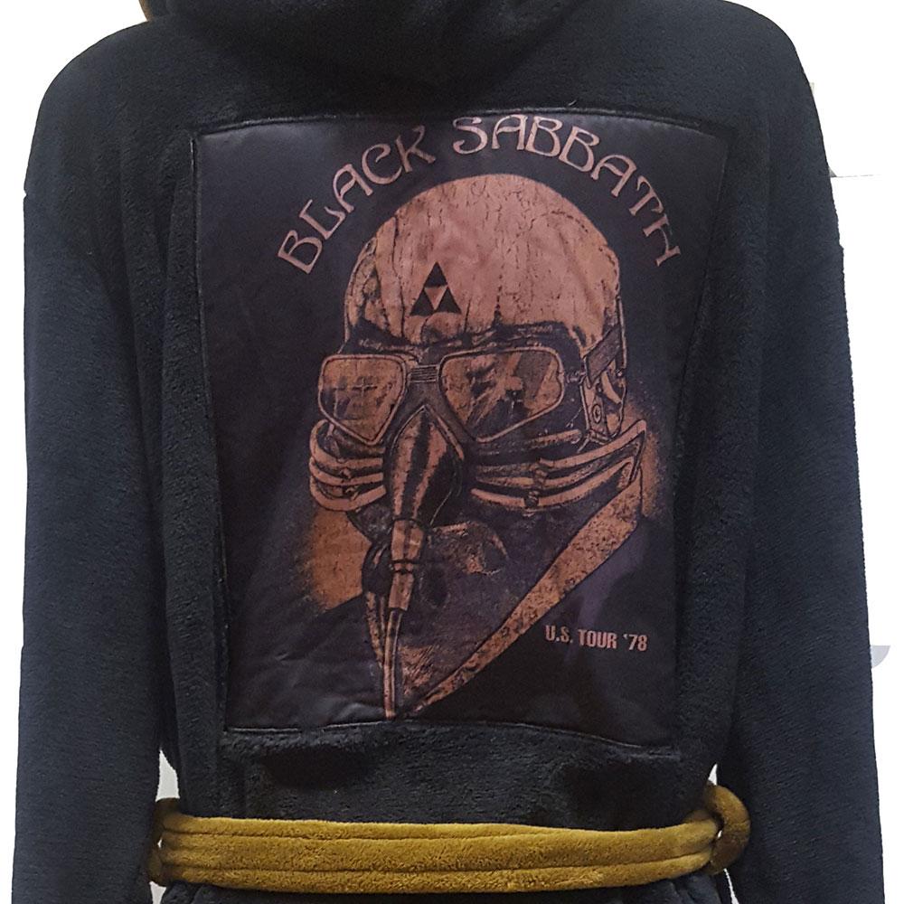 BLACK SABBATH ブラックサバス - Us Tour 78 Avengers / バスローブ / メンズ 【公式 / オフィシャル】