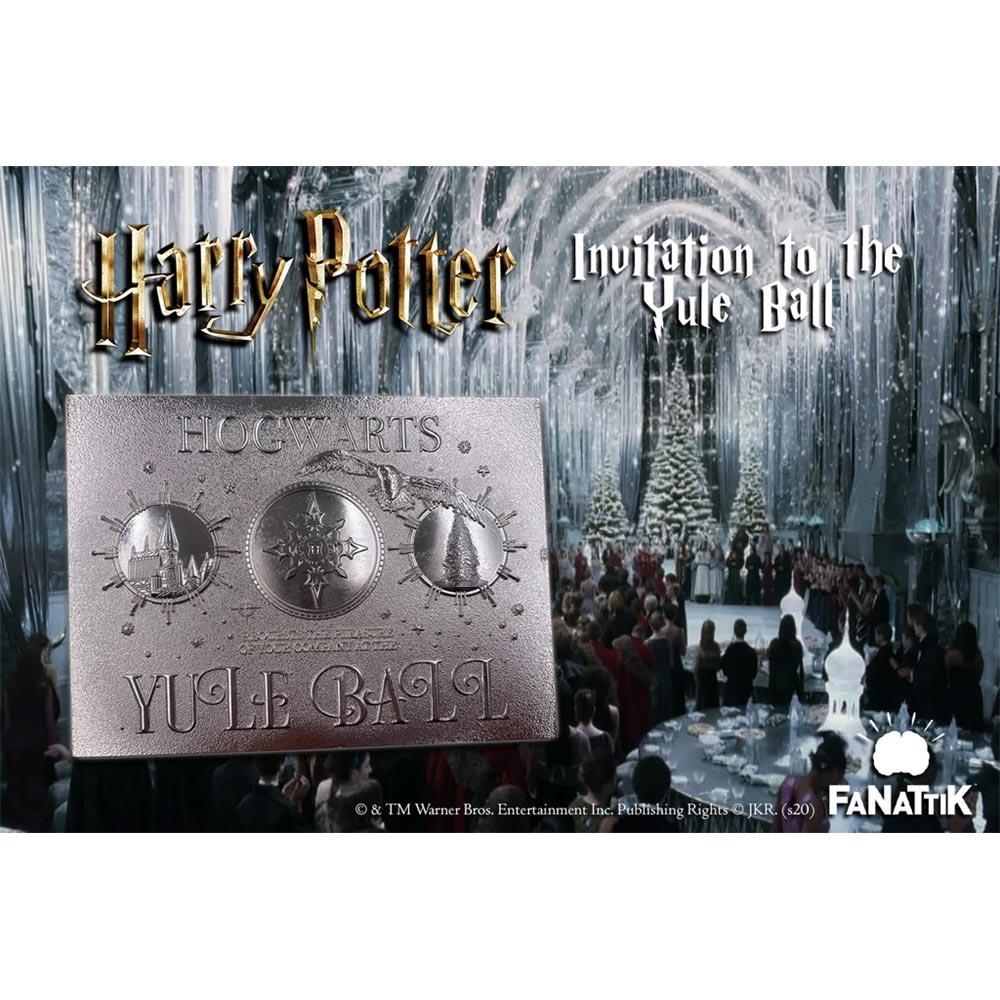 【予約商品】 HARRY POTTER ハリーポッター (映画公開20周年 ) - Yule Ball invitation limited edition / 世界限定9995枚 / インテリア置物 【公式 / オフィシャル】