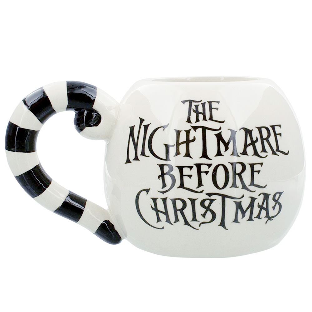 NIGHTMARE BEFORE CHRISTMAS ナイトメアー・ビフォア・クリスマス - Jack Head / 3D Sculpted / マグカップ
