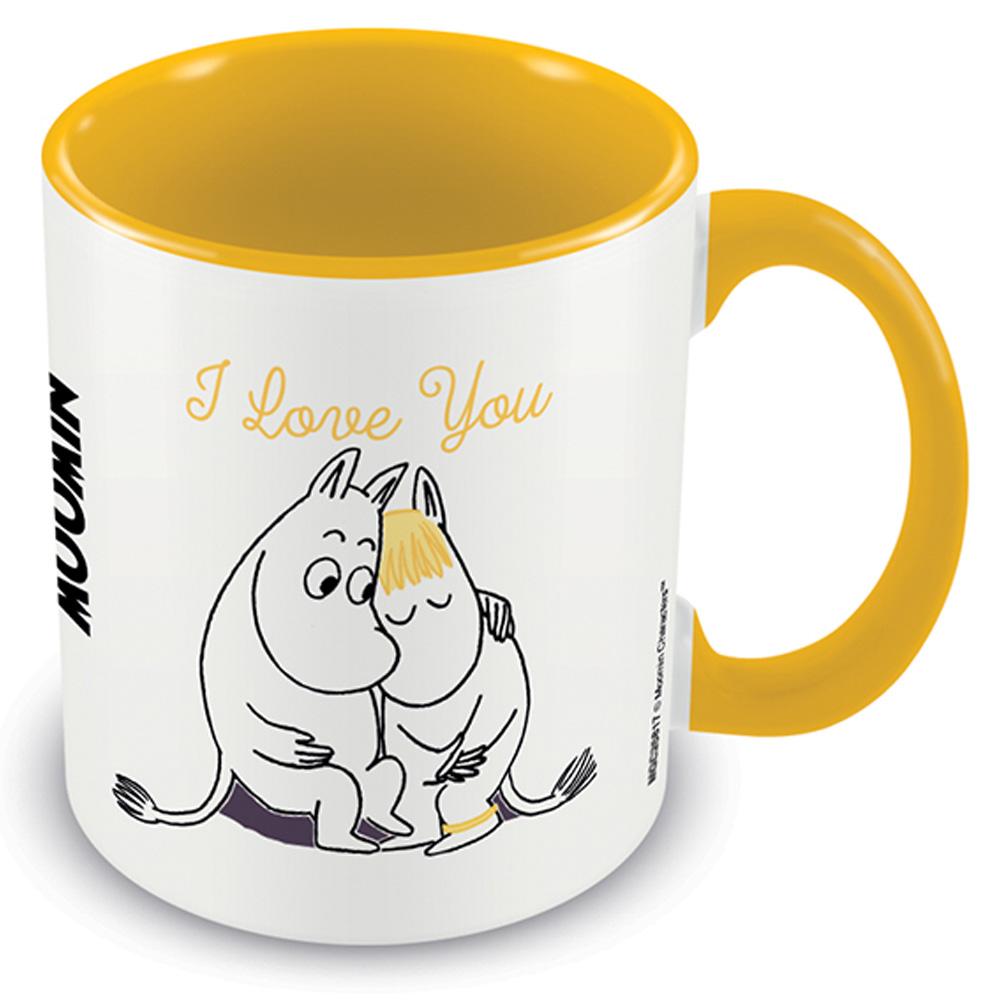 MOOMIN ムーミン - I love You / Yellow / マグカップ