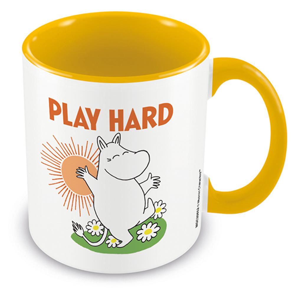 MOOMIN ムーミン - Play hard / Yellow / マグカップ