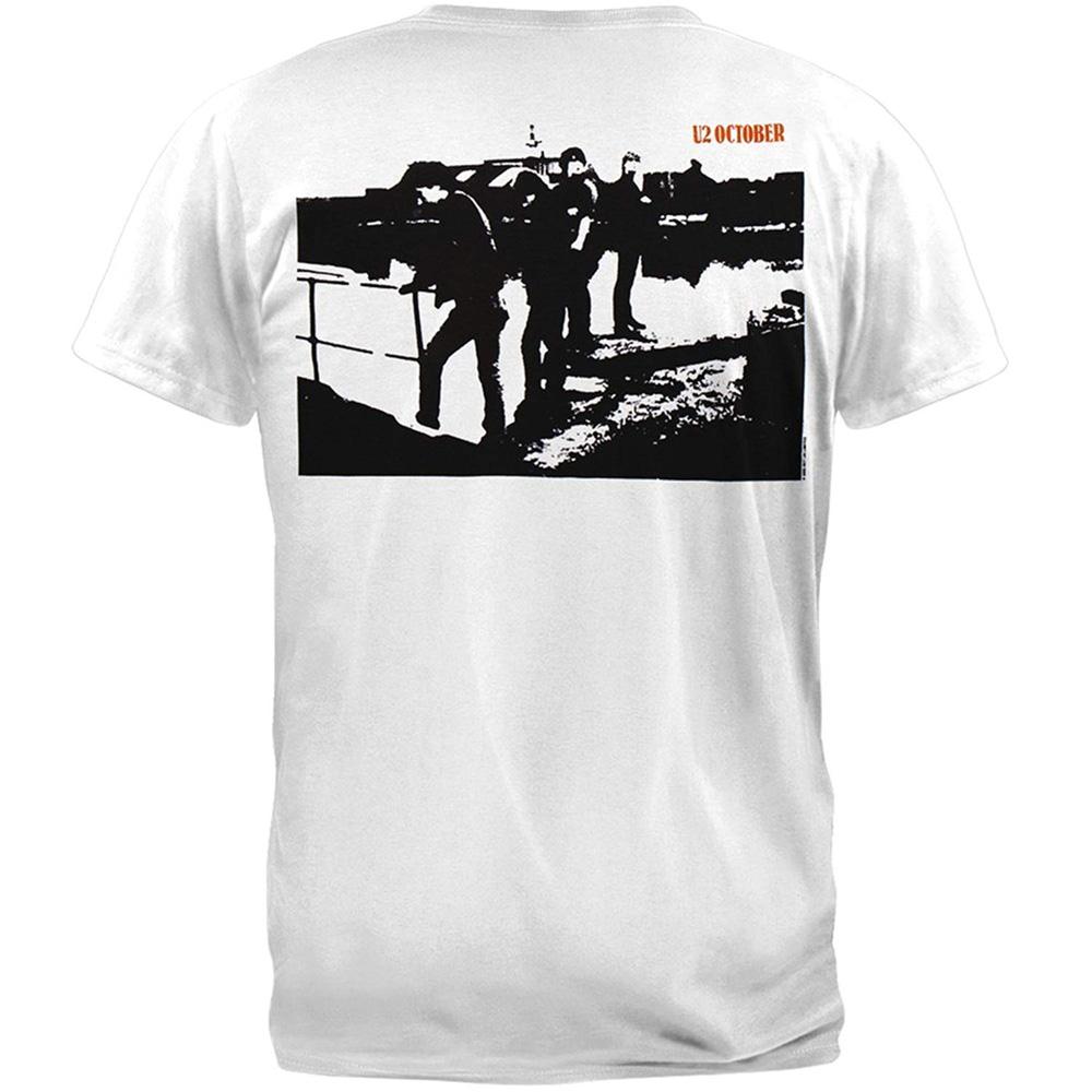 U2 ユーツー (結成45周年 ) - OCTOBER / バックプリントあり / Tシャツ / メンズ