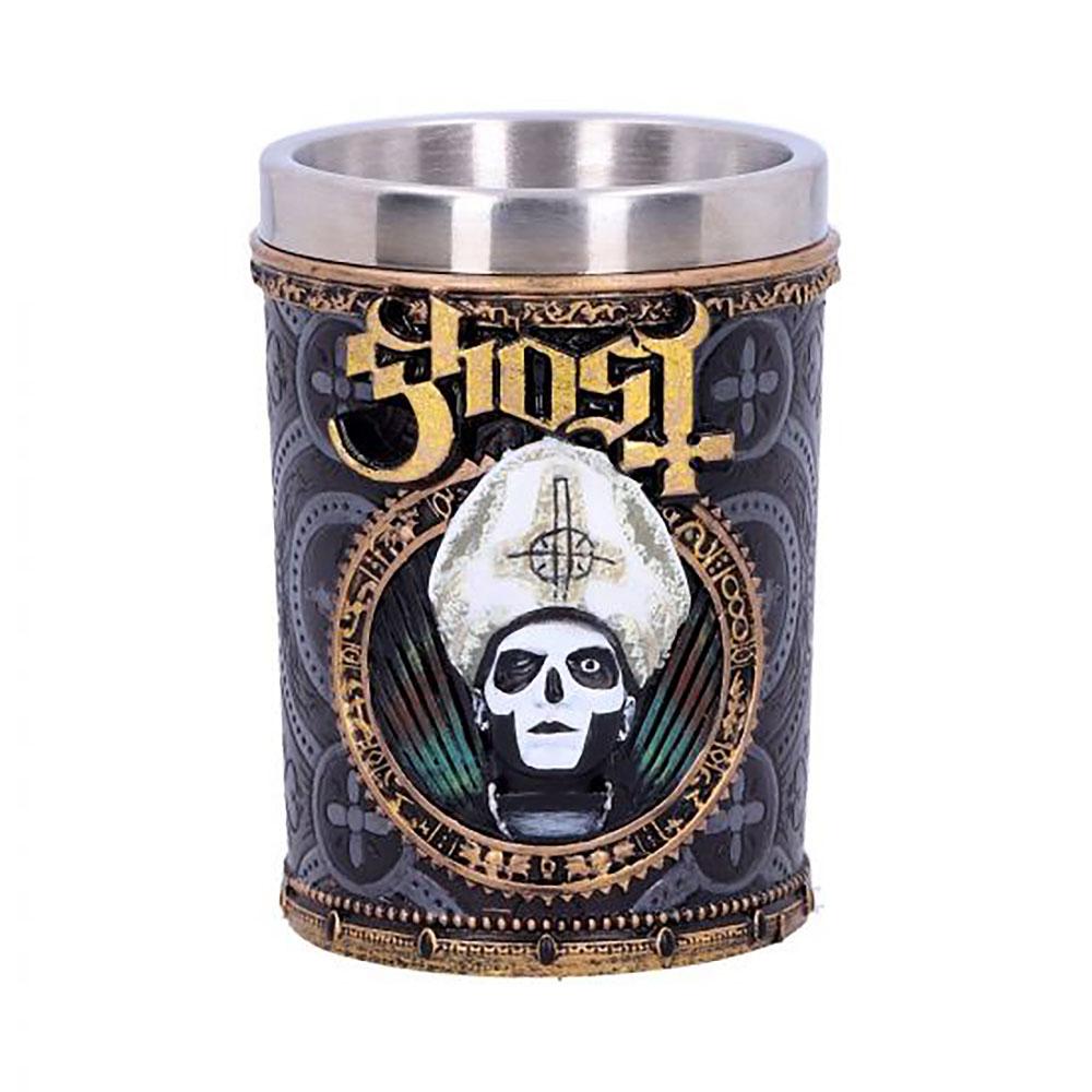 GHOST ゴースト (結成15周年 ) - Papa Emeritus III / ショットグラス / 食器・グラス