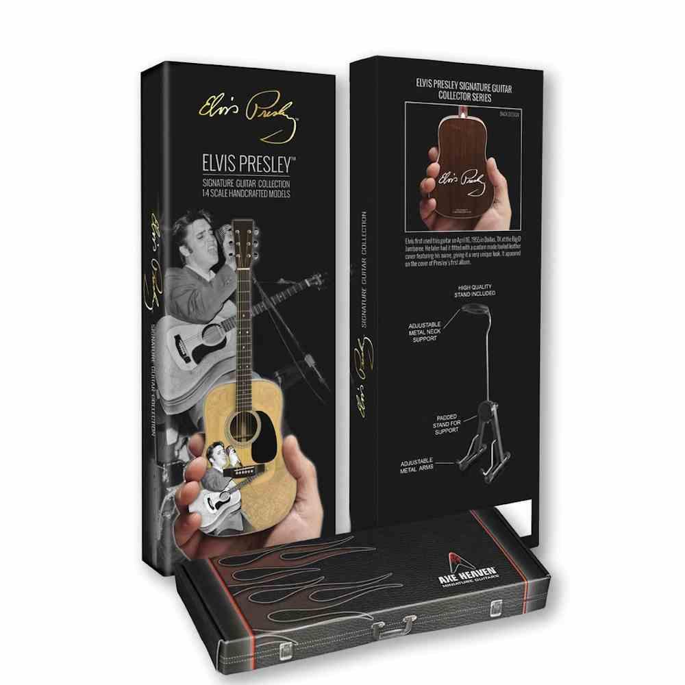 ELVIS PRESLEY エルヴィスプレスリー (RCAデビュー65周年記念 ) - ELVIS 55 Tribute Acoustic / ミニチュア楽器