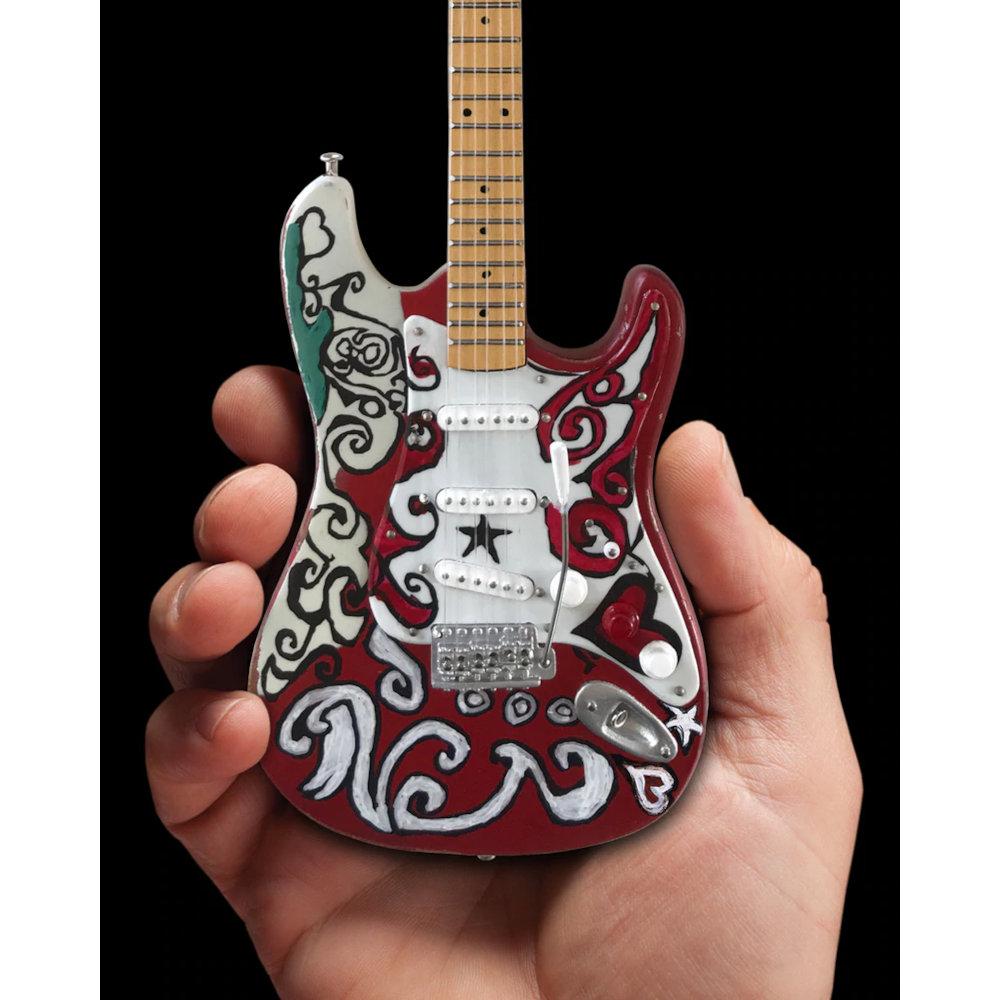 JIMI HENDRIX ジミヘンドリックス (追悼50周年 ) - Mini Fender Strat Saville / ミニチュア楽器