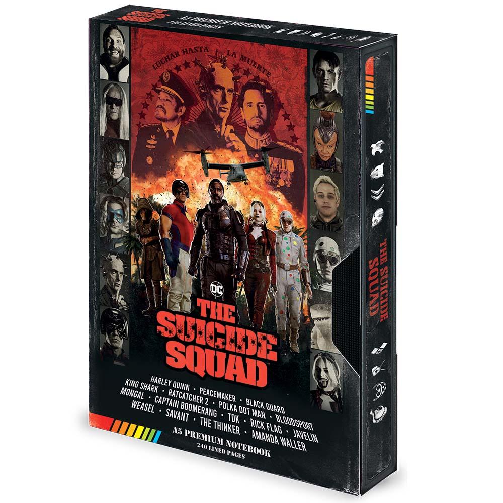 SUICIDE SQUAD スーサイドスクワッド (映画公開記念 ) - VHS / Premium A5 / ノート・メモ帳