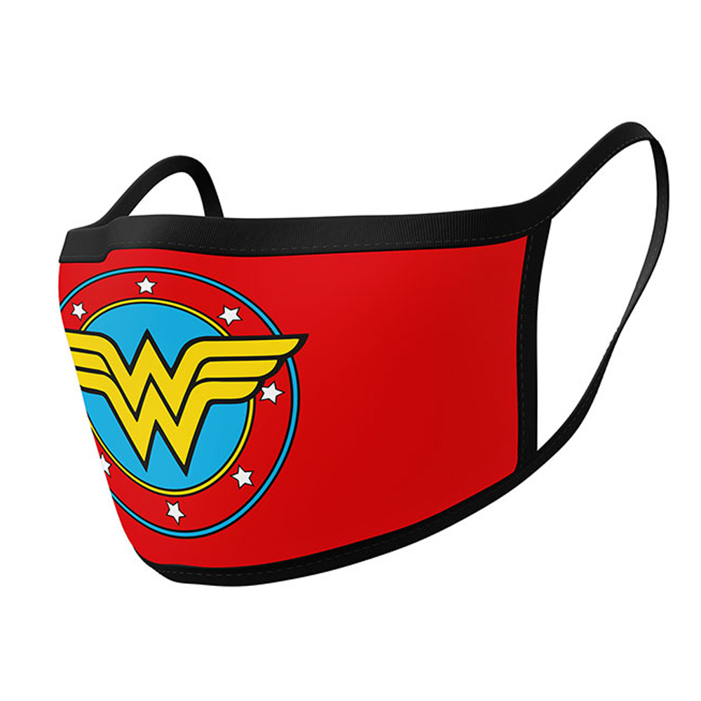 WONDER WOMAN ワンダーウーマン - Logo / フェイスカバー2枚セット / 生活雑貨