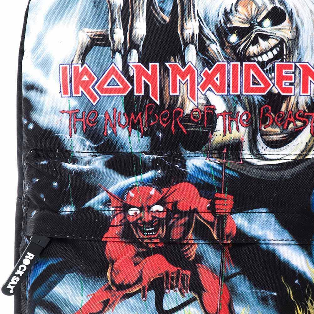 IRON MAIDEN アイアンメイデン - NUMBER OF THE BEAST / ROCK SAX(ブランド) / バックパック / バッグ