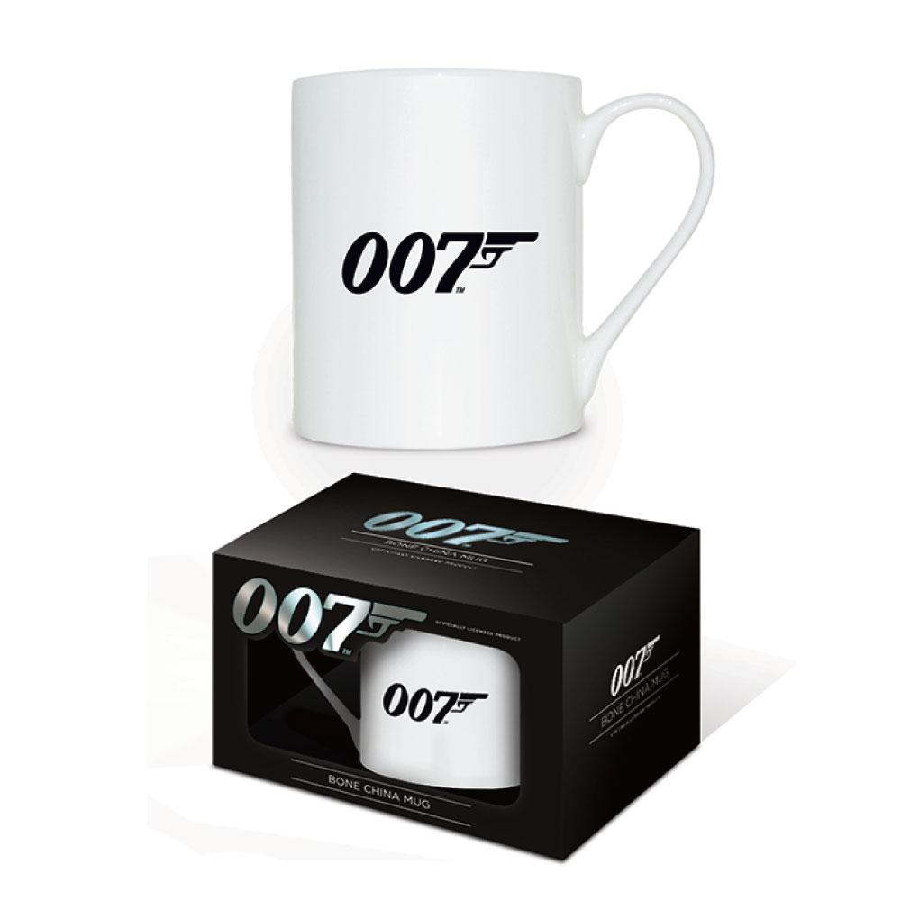 JAMES BOND ジェームズボンド (映画『NO TIME TO DIE』公開記念 ) - 007 Logo / マグカップ