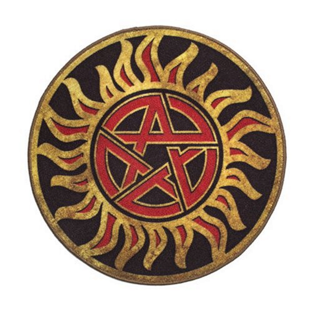 SUPERNATURAL スーパーナチュラル -  Anti-Possession Symbol / ドアマット / インテリア雑貨