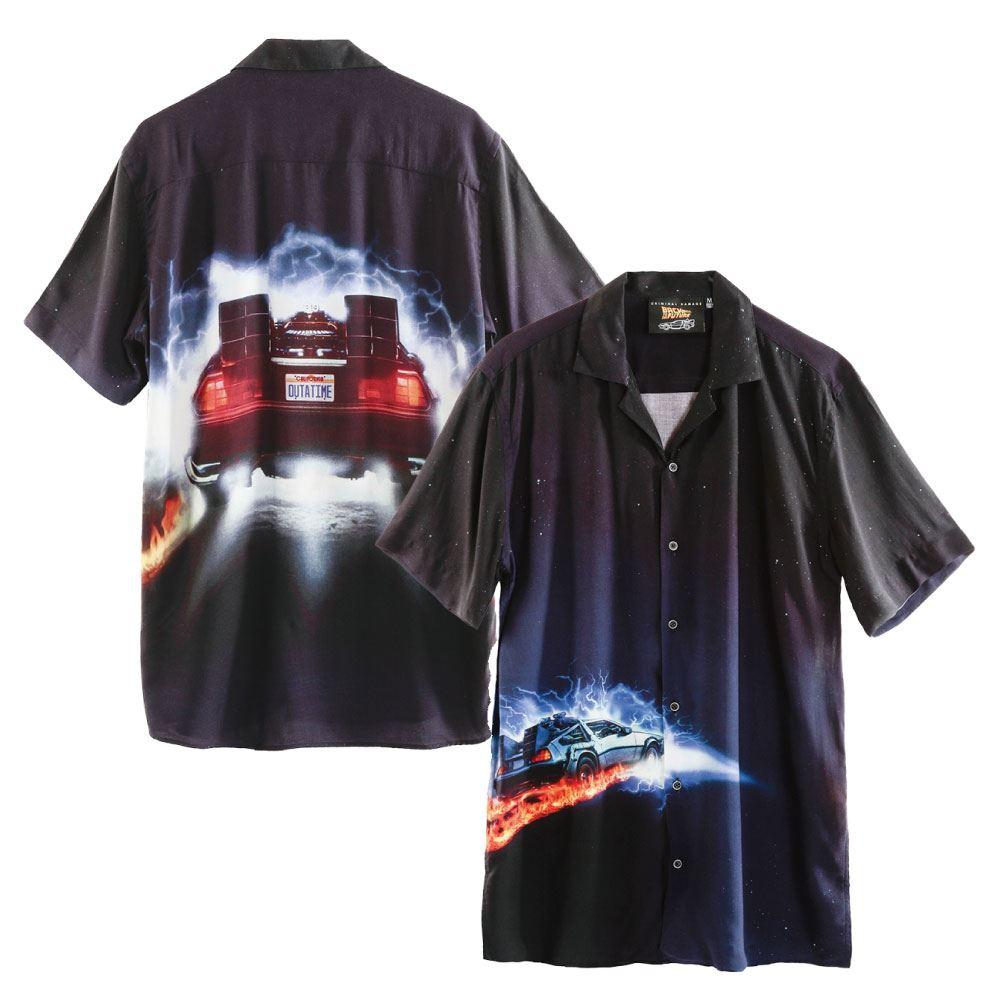 BACK TO THE FUTURE バックトゥザフューチャー (公開35周年 ) - POSTER SHIRT / CRIMINAL DAMAGE(ブランド) / 限定 / シャツ(襟付き) / メンズ