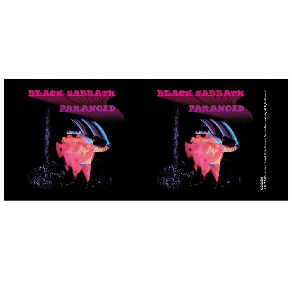 BLACK SABBATH ブラックサバス - Paranoid / Black / マグカップ