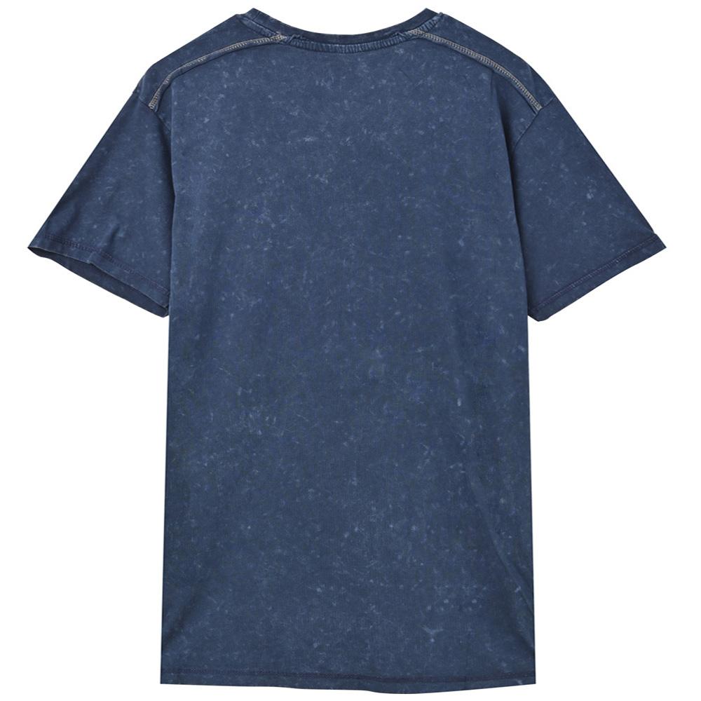RUN DMC ランディーエムシー (結成40周年 ) - Logo / Black Label(ブランド) / Snow Wash / Tシャツ / メンズ