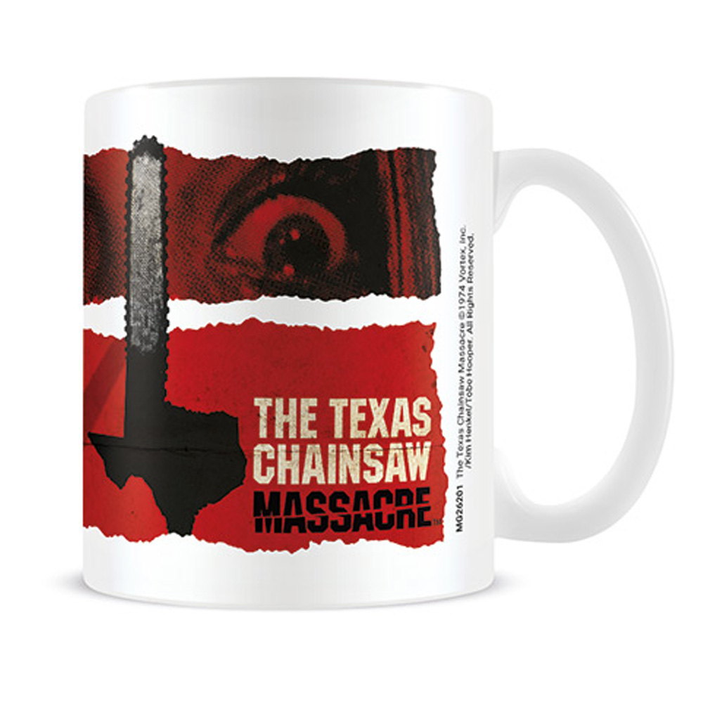 TEXAS CHAINSAW MASSACRE 悪魔のいけにえ - Newsprint / マグカップ
