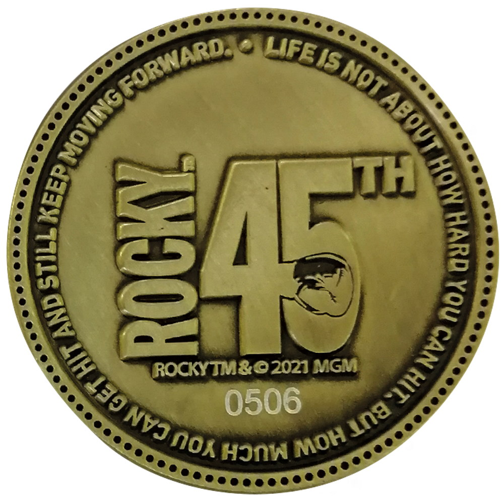 ROCKY ロッキー (公開45周年 ) - 45th Anniversary Limited Edition Coin / コイン