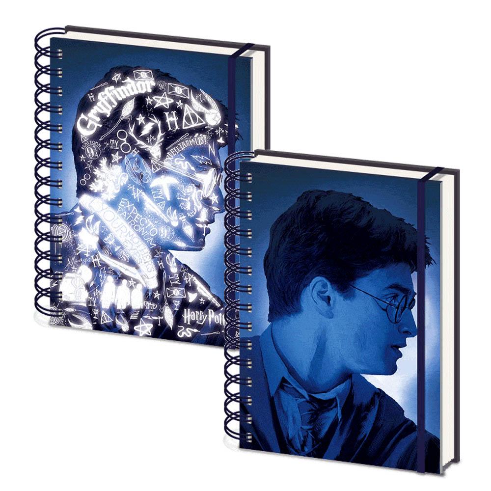 HARRY POTTER ハリーポッター (映画公開20周年 ) - Magic Portrait / 3Dカバー / ノート