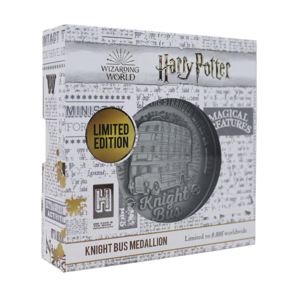 【予約商品】 HARRY POTTER ハリーポッター (映画公開20周年 ) - Knight Bus Medallion / 世界限定9995 / コイン