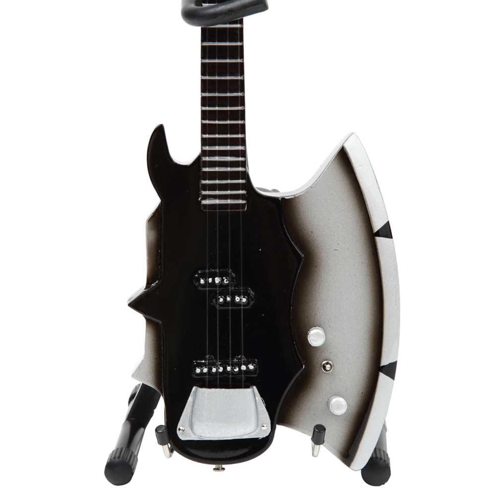 KISS キッス - GENE SIMMONS AXE / ミニチュア楽器