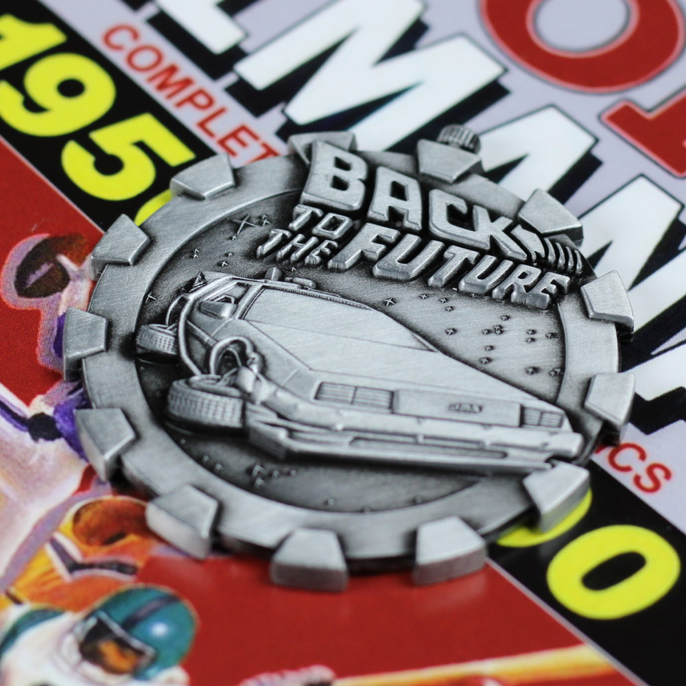【予約商品】 BACK TO THE FUTURE バックトゥザフューチャー (マイケルJフォックス生誕60周年 ) - Limited Edition Medallion / 世界限定5000 / コイン