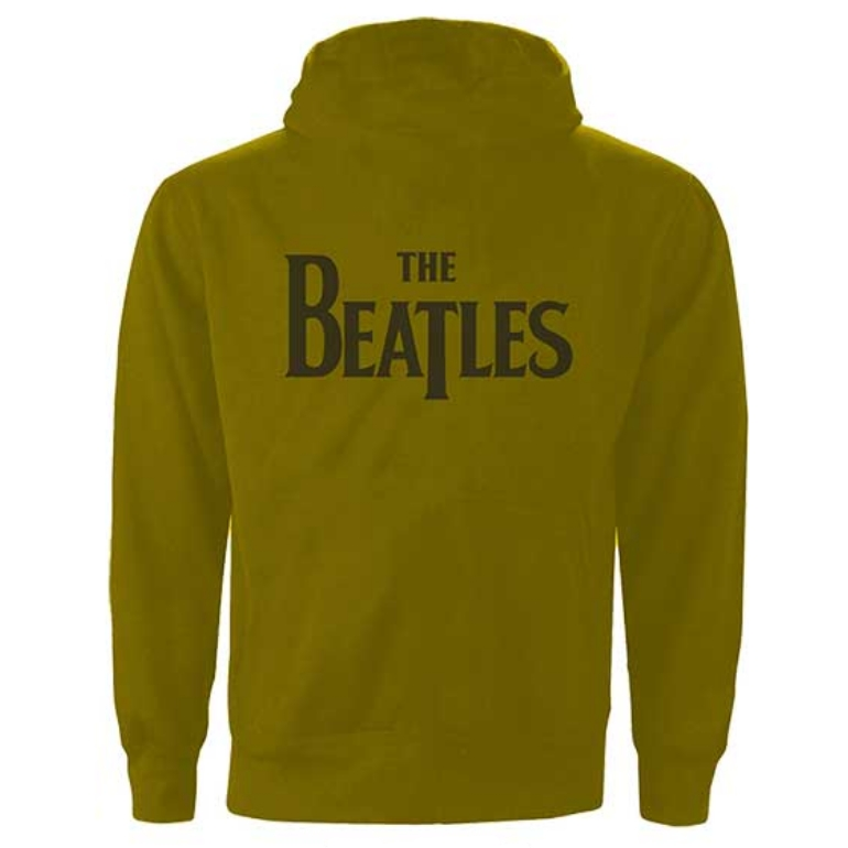 BEATLES ビートルズ (来日55周年記念 ) - Drop T Logo / バックプリントあり / ジップ / スウェット・パーカー / メンズ