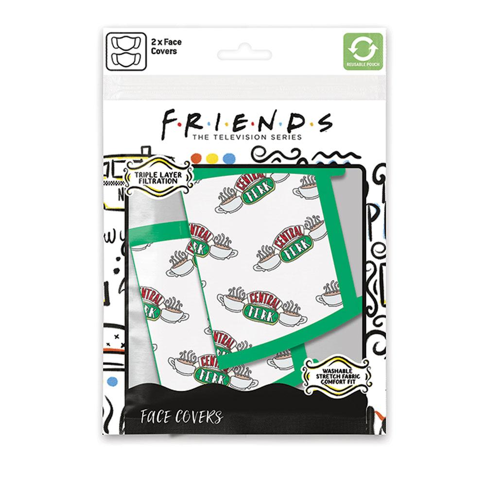 FRIENDS フレンズ - Central Perk / マスク2枚セット / 生活雑貨