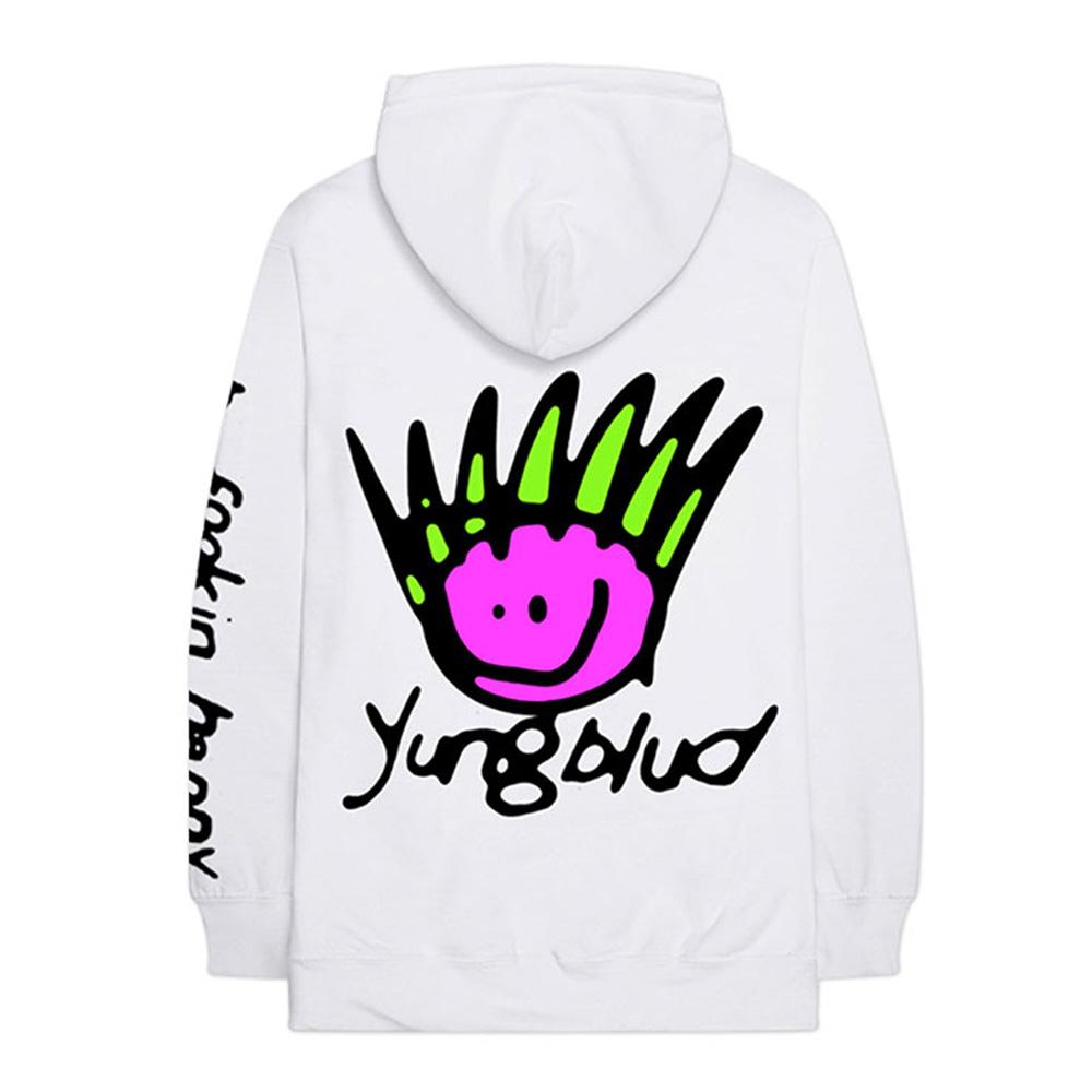 YUNGBLUD ヤングブラッド - Face / バックプリントあり / アームプリントあり / パーカー・スウェット / メンズ