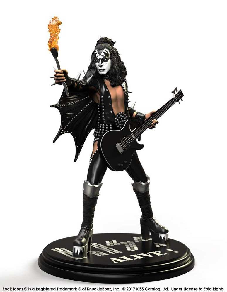 KISS キッス (地獄への接吻45周年 ) - Rock Iconz Statue Set(ALIVE!) / 世界限定3000体 / フィギュア・人形