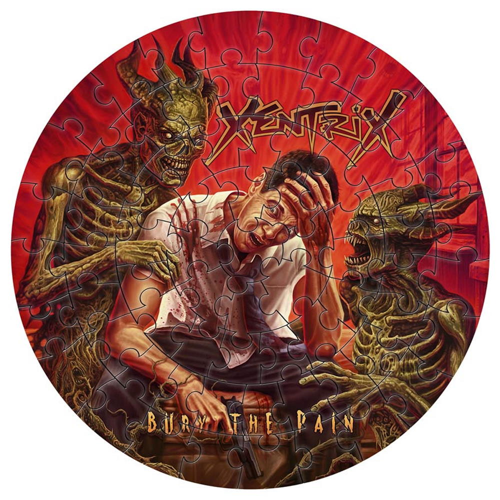 XENTRIX ゼントリックス - Bury The Pain / 72ピース円形 / ジグソーパズル