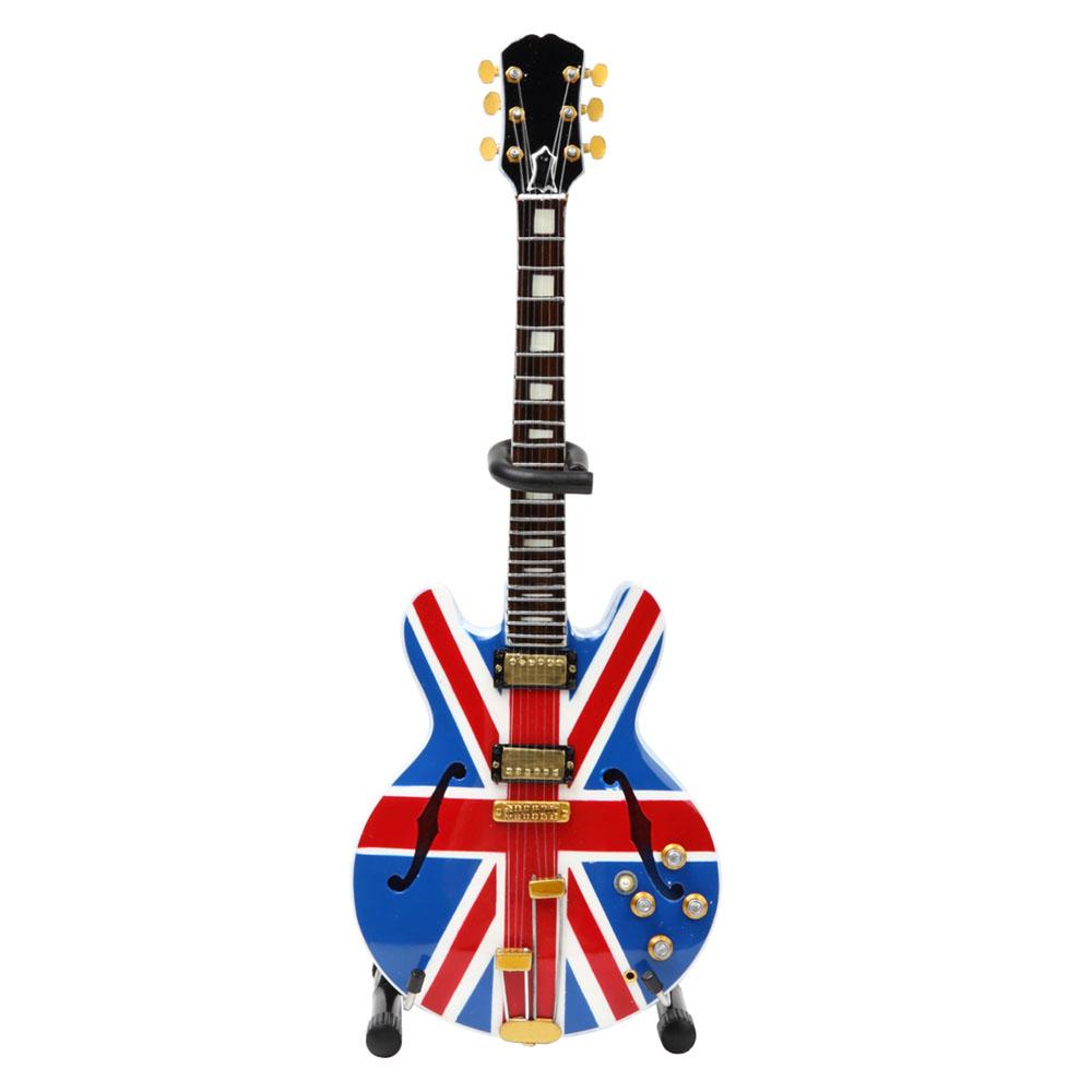 OASIS オアシス (結成30周年 ) - Noel Gallagher Union Jack Supernovaミニチュア / ミニチュア楽器