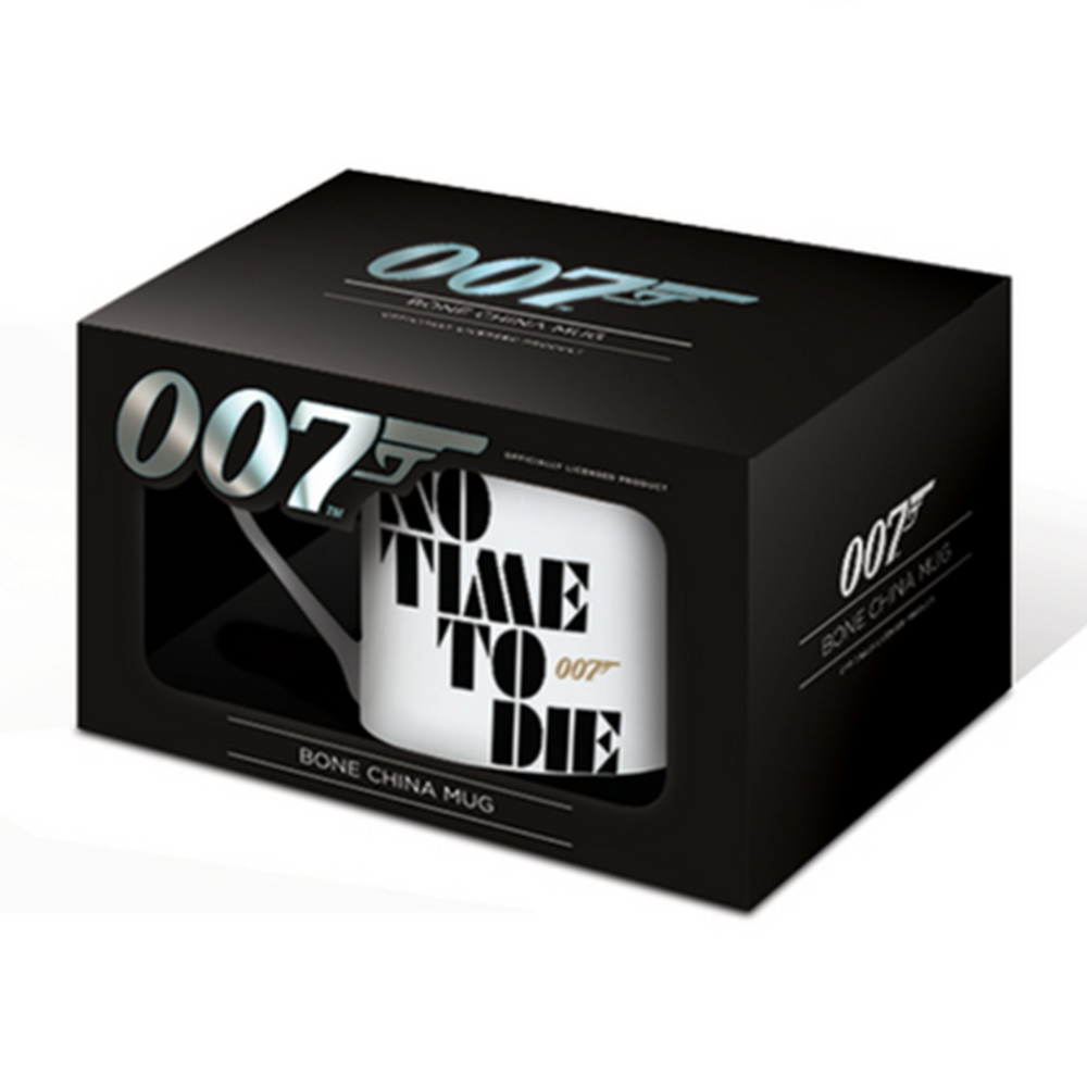 JAMES BOND ジェームズボンド (映画『NO TIME TO DIE』公開記念 ) - No Time To Die / マグカップ