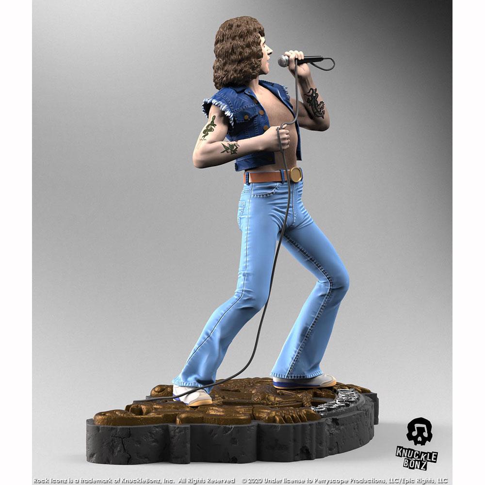 【予約商品】 AC/DC エーシーディーシー (Angus Young生誕65周年 ) - Bon Scott Rock Iconz Statue / 世界限定3000体 / フィギュア・人形
