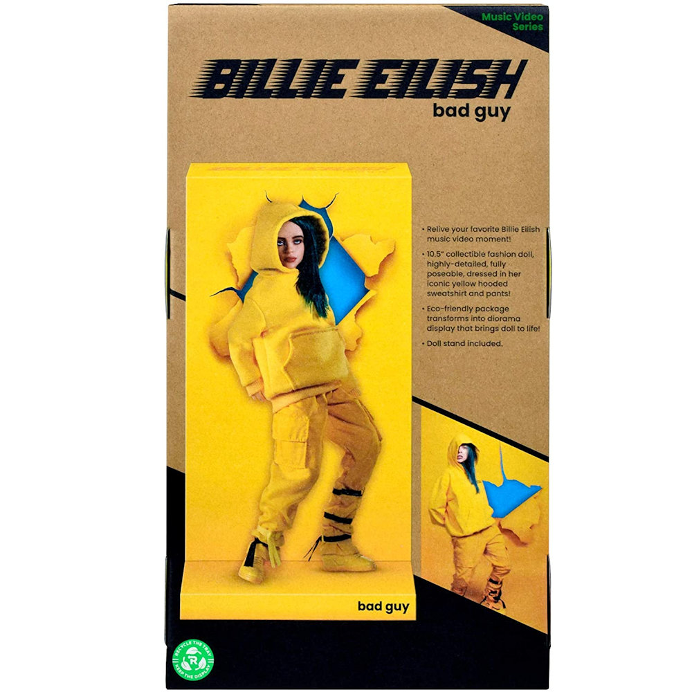 【予約商品】 BILLIE EILISH ビリーアイリッシュ (2nd新譜発売 ) - Bad Guy 10 1/2-Inch Fashion Doll / フィギュア・人形