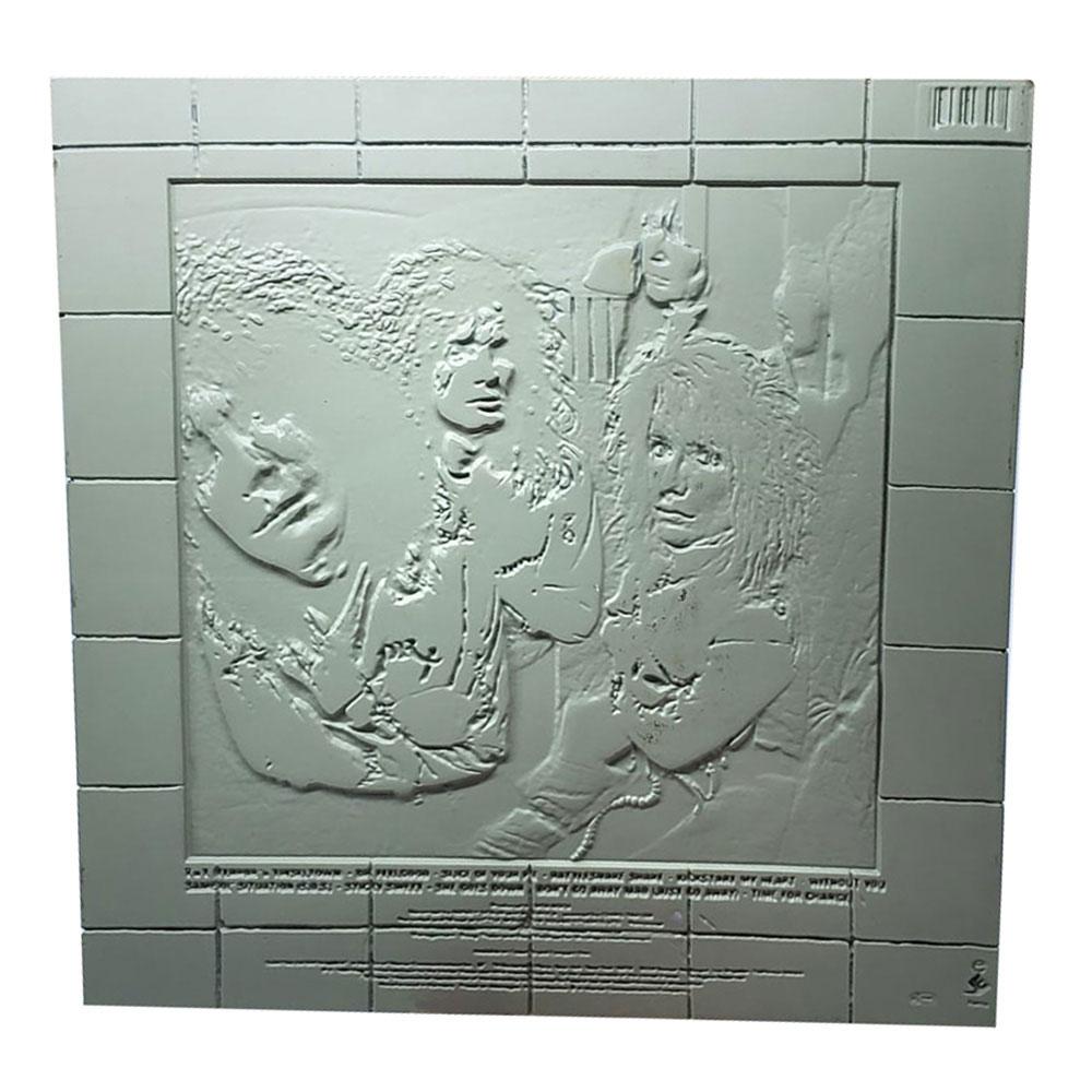 MOTLEY CRUE モトリークルー (結成40周年 ) - Dr. Feelgood 3D Vinyl / 世界限定1989 / インテリア置物