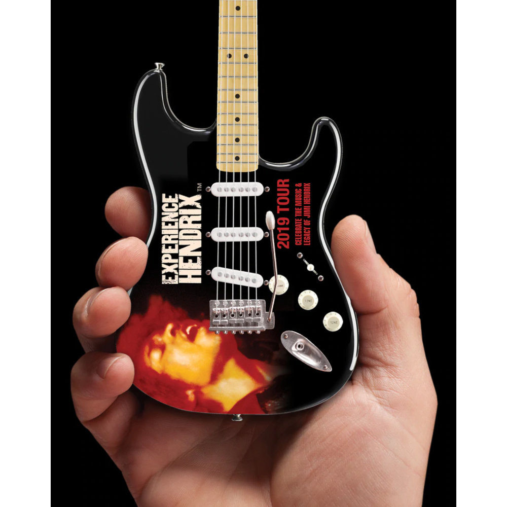 JIMI HENDRIX ジミヘンドリックス - 2019 Experience Hendrix Tour / Mini Fender Strat Guitar Model / ミニチュア楽器