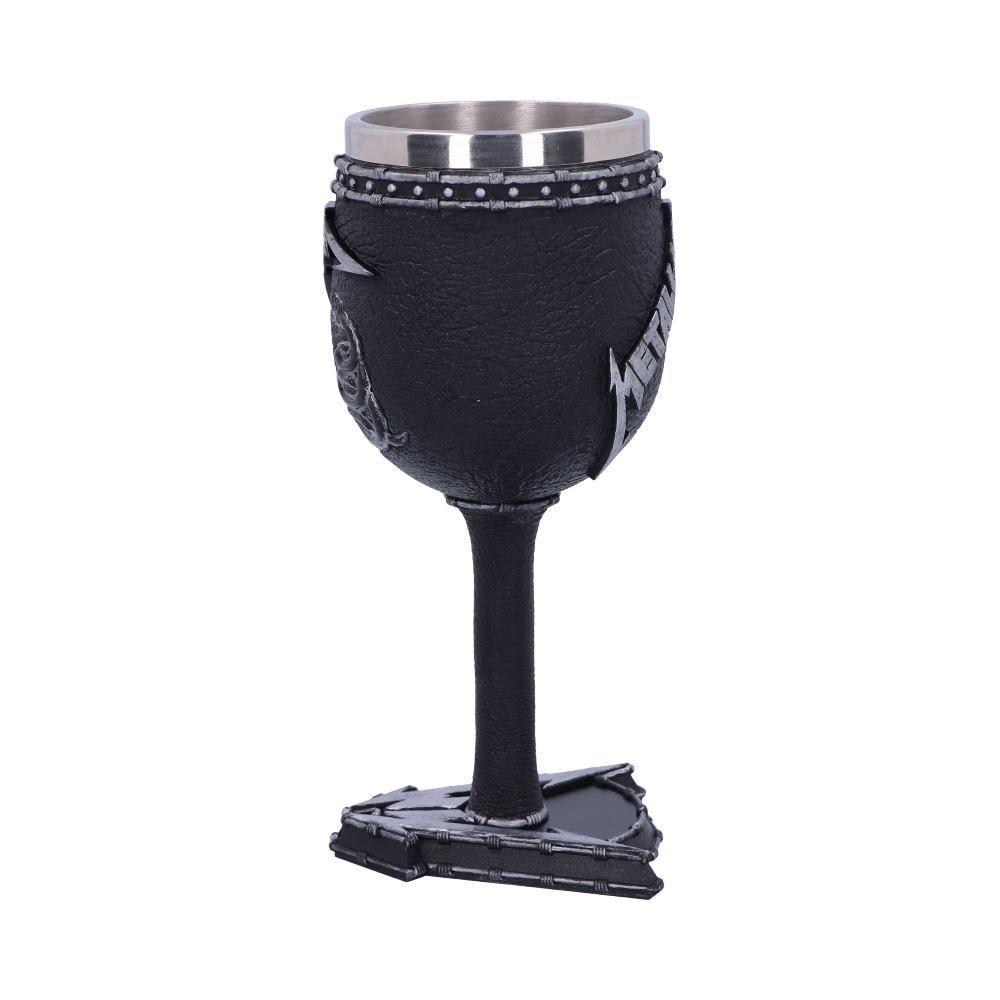 METALLICA メタリカ - BLACK ALBUM GOBLET WINE GLASS / 食器・グラス