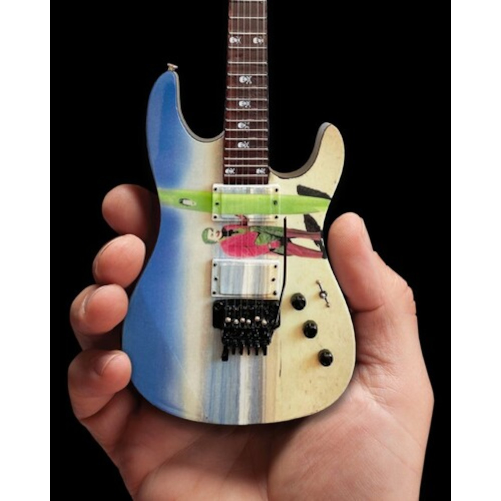 "METALLICA メタリカ (結成40周年 ) - Kirk Hammett ""Joker Surfs Up"" Miniature Guitar Replica Collectible / ミニチュア楽器"