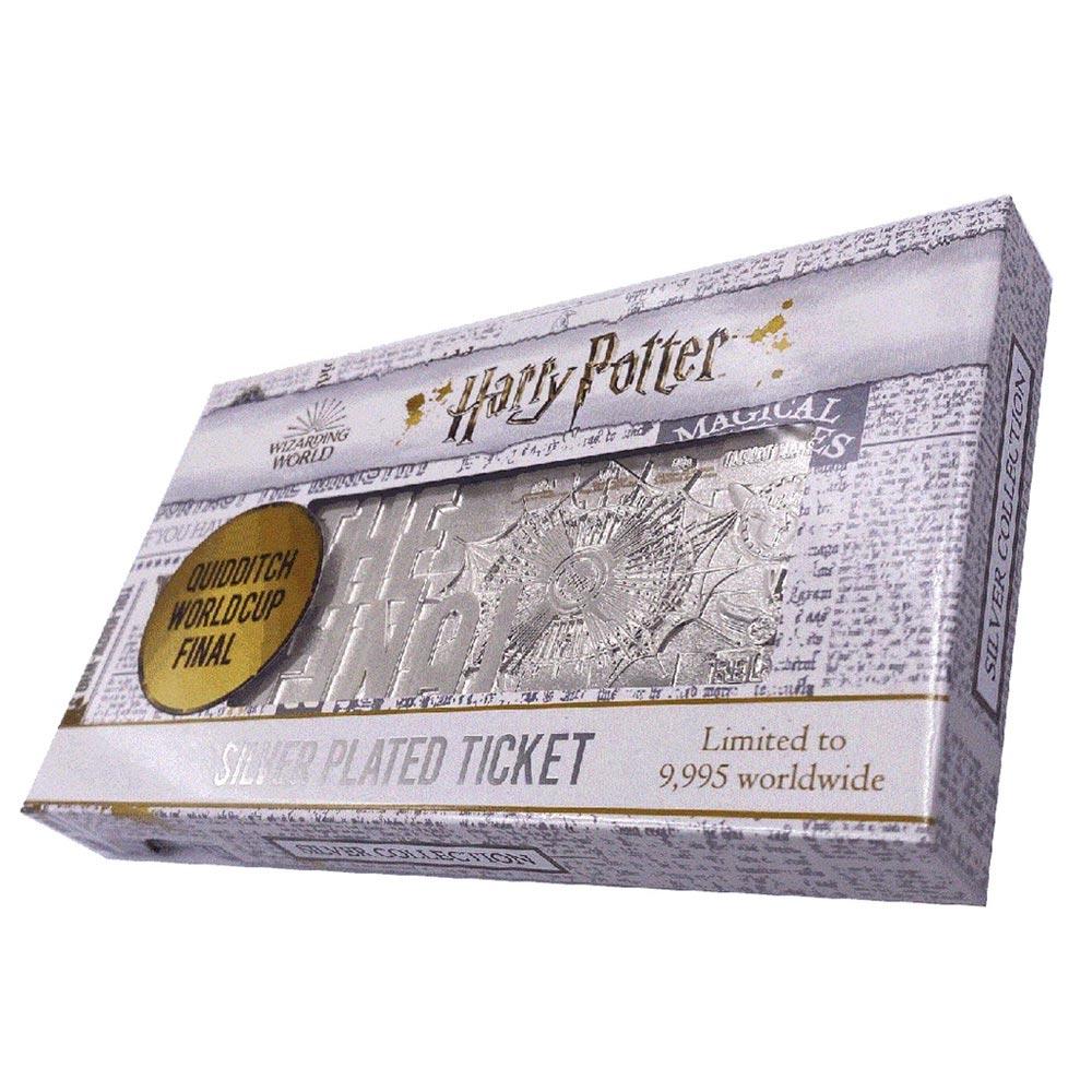 HARRY POTTER ハリーポッター (映画公開20周年 ) - Quidditch World Cup ticket limited edition replica / 世界限定9995枚 / インテリア置物