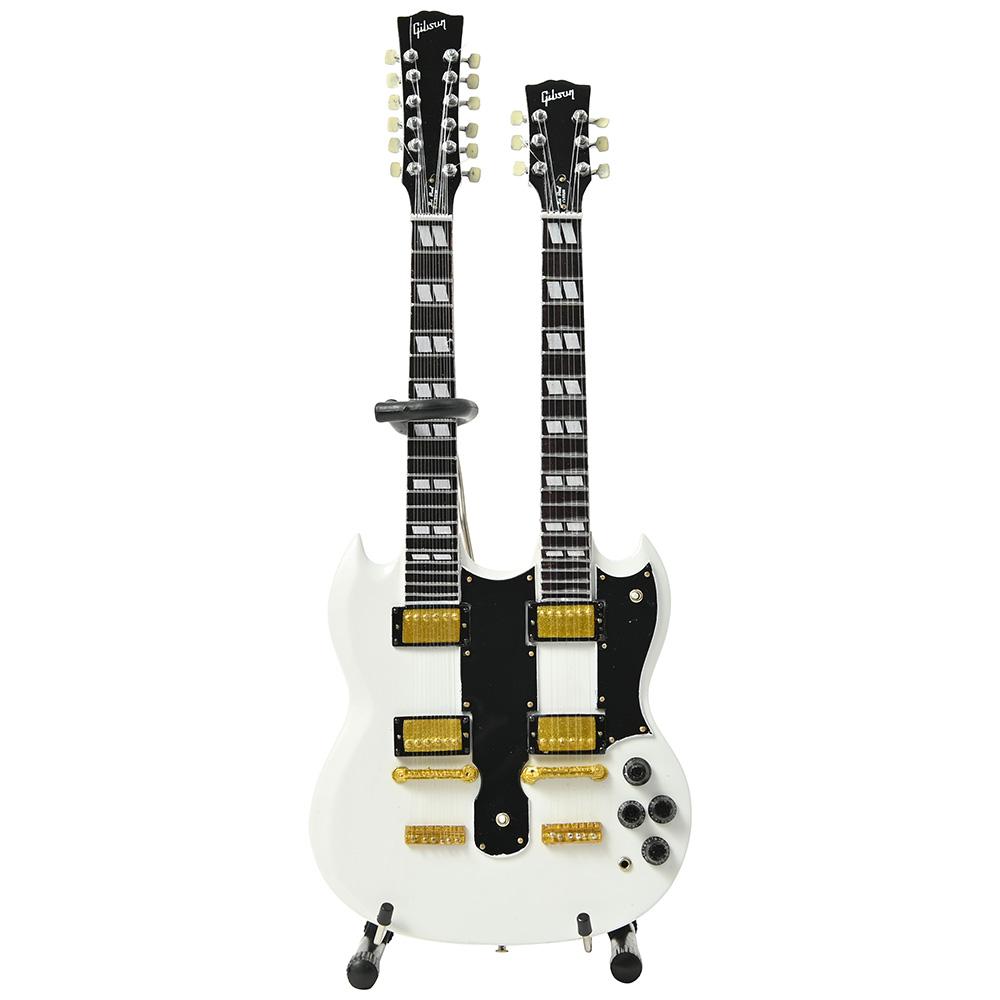 GIBSON ギブソン - SG EDS-1275 Doubleneck White / ミニチュア楽器