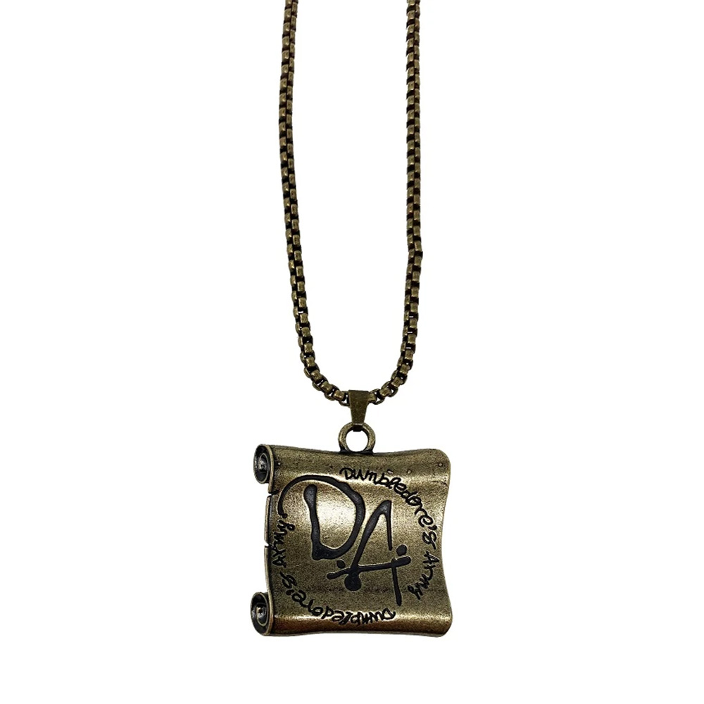 【予約商品】 HARRY POTTER ハリーポッター (映画公開20周年 ) - Dumbledore's Army limited edition necklace / 世界限定9995本 / ネックレス