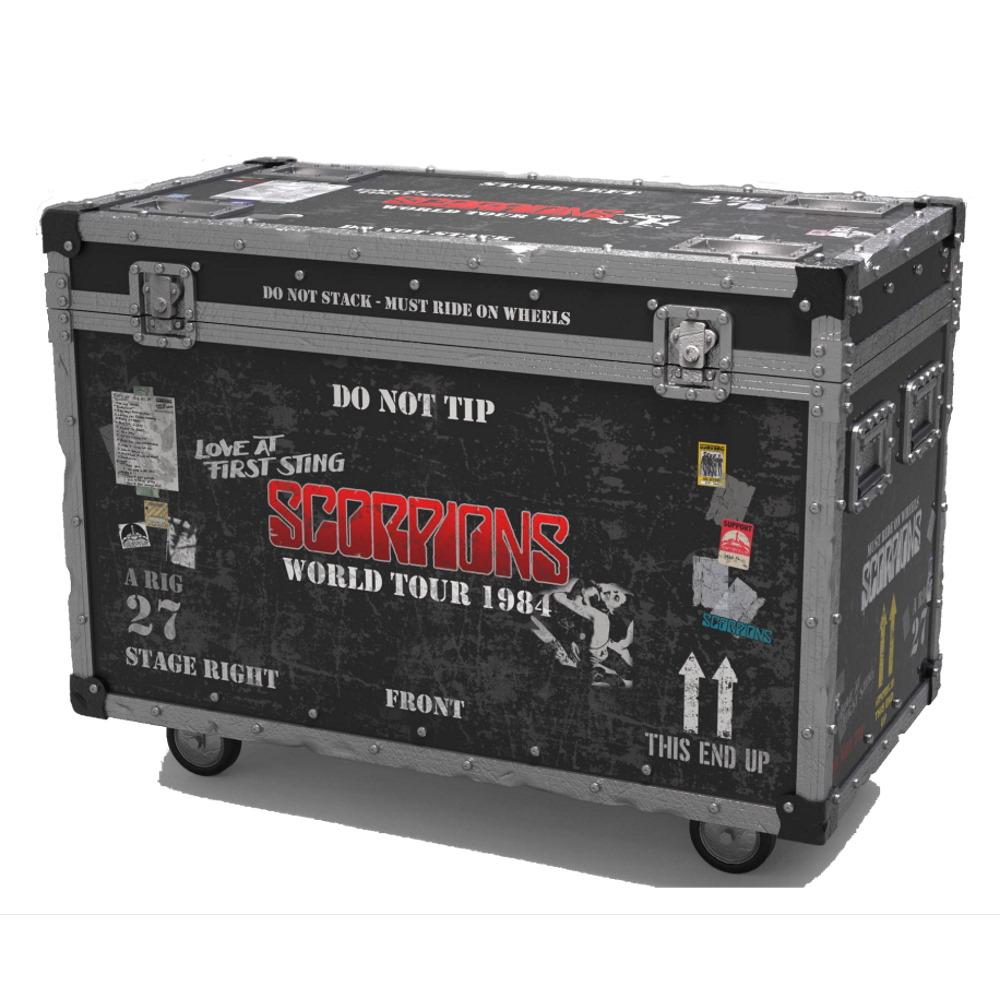 【予約商品】 SCORPIONS スコーピオンズ (結成55周年記念 ) - Road Case On Tour Series Collectible / 世界限定3000 / インテリア置物